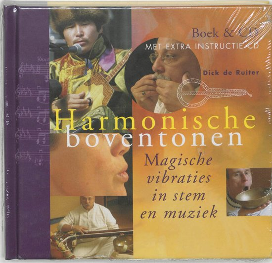 Cover van het boek 'Harmonische boventonen + CD' van D. de Ruiter