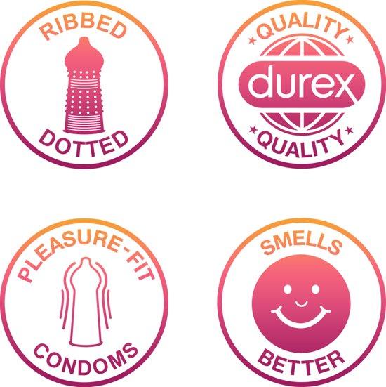 Durex Pleasure Me - 12 stuks - Condooms