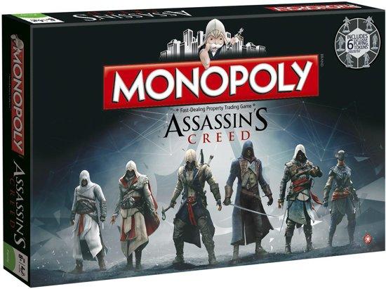Afbeelding van het spel Monopoly Assassins Creed - Bordspel
