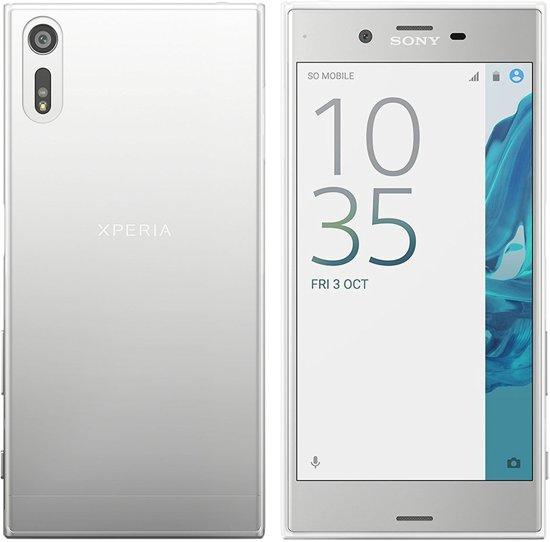 Sony Xperia XZ TPU Siliconen case back cover Hoesje Transparant / Doorzichtig