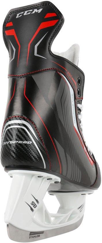 CCM Schaatsen - Maat 36 - Unisex - zwart/rood/wit
