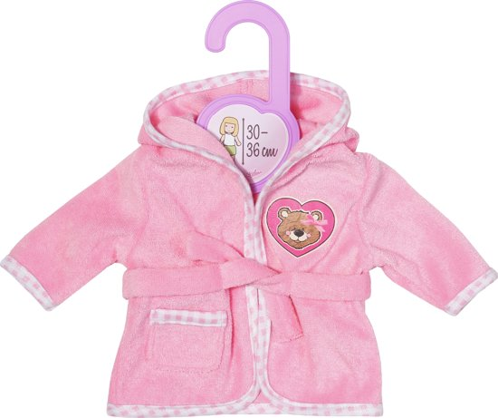 Dolly Moda Bathrobe 30-36 cm
