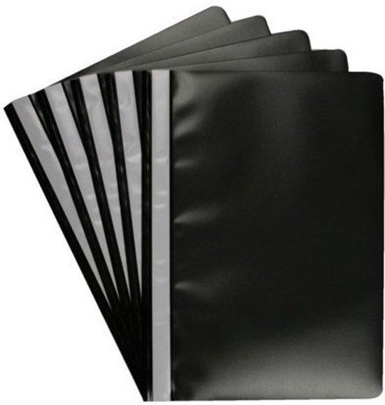 Huismerk - Snelhechter A4 - Zwart - 10 stuks