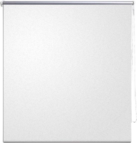 vidaXL - Rolgordijn (wonen) Rolgordijn verduisterend 40 x 100 cm - wit