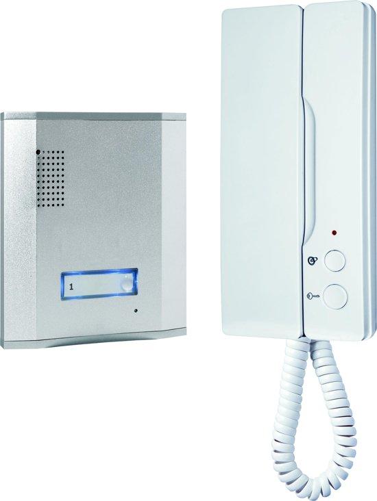 Smartwares IB61 - Audio intercom set voor 1 appartement - 3 draads - 2-weg audio communicatie