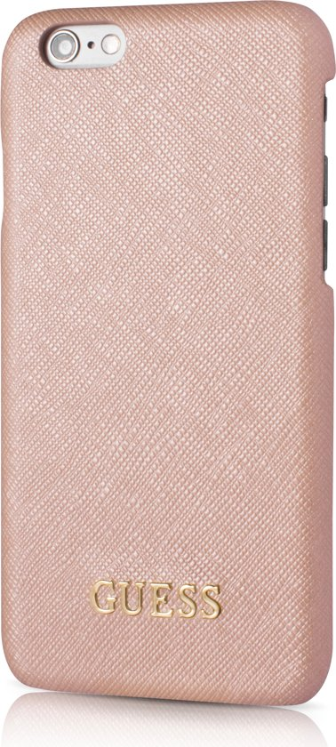 Guess iPhone 6 / 6S Hard Back Case Saffiano Pink