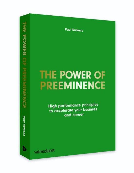 The power of preeminence