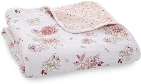 Aden + Anaïs Dream Blanket Dahlia's