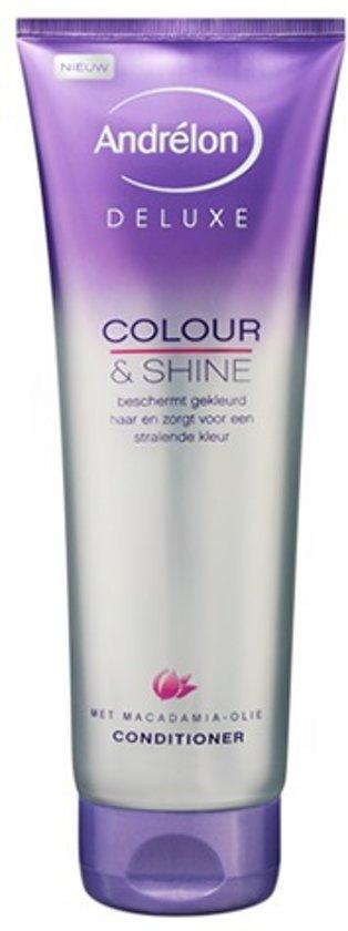 Andrélon Deluxe Colour & Shine - 250 ml - Conditioner