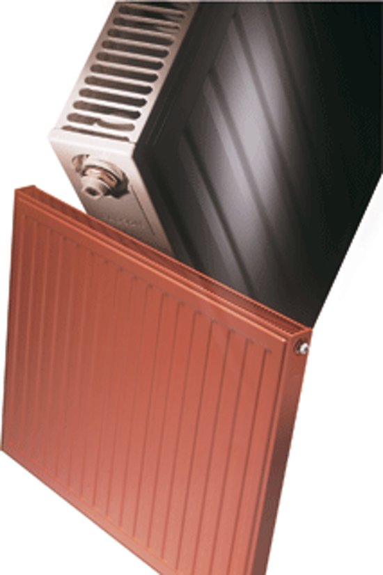 Radson paneelradiator Compact, staal, wit, (hxlxd) 400x450x65mm, 11
