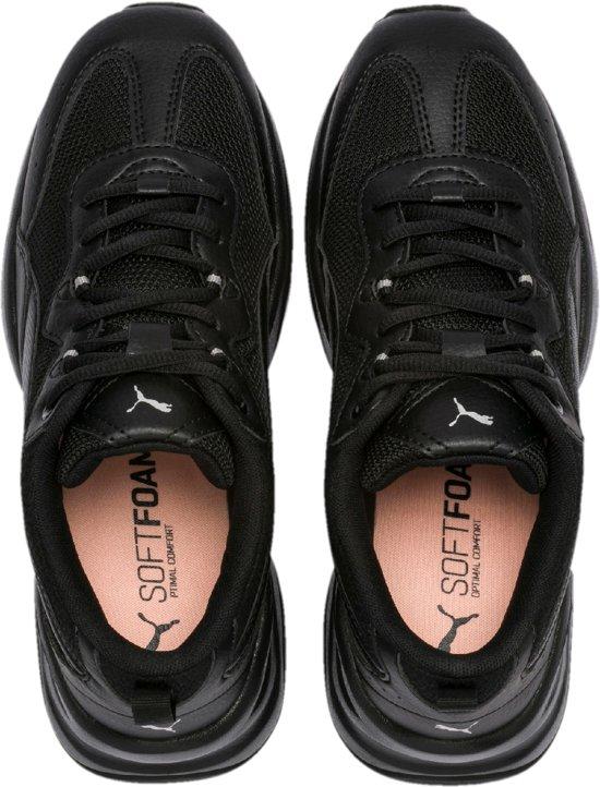 Cilia Silver Black Bud 40 Puma Dames Maat Peach Sneakers 1dqxTABw6