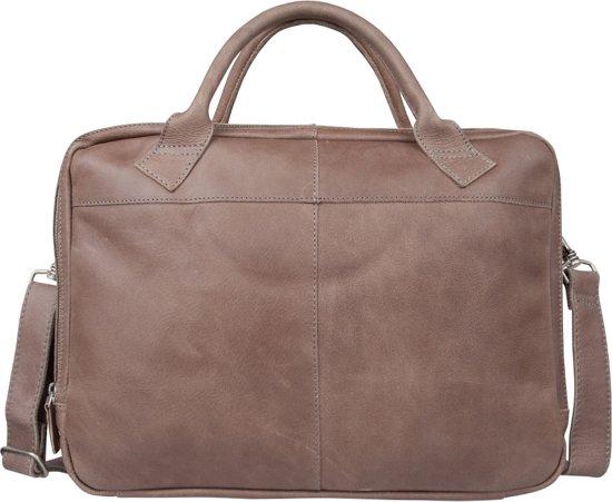 7a5a145573f bol.com | Cowboysbag Sterling - Aktetas - Elephant Grey