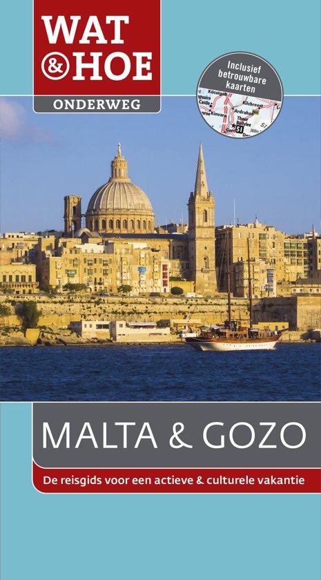 383f1db3f125f8 bol.com | Wat & Hoe onderweg - Malta en Gozo, Wat & Hoe Onderweg ...