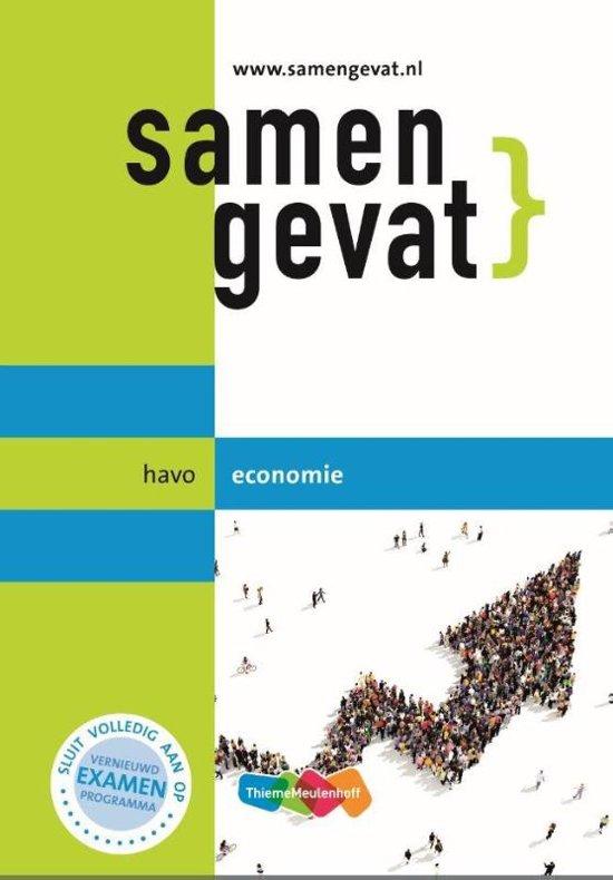 Samengevat havo Economie 6e druk