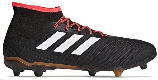 adidas PREDATOR 18.2 FG - Voetbalschoenen - Zwart/Rood - CP9290
