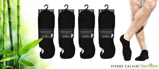 1a3ca23136e Pierre Calvini - Bamboe sokken - 12 paar - Invisable Sneakersok - Maat 39-45