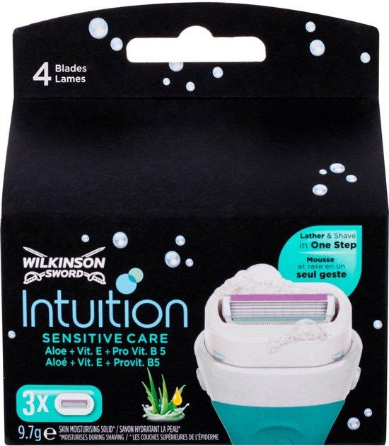 Wilkinson Intuition Sensitive Care Scheermesjes - 3 stuks