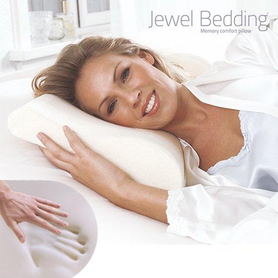 Jewel Bedding Traagschuim Hoofdkussen