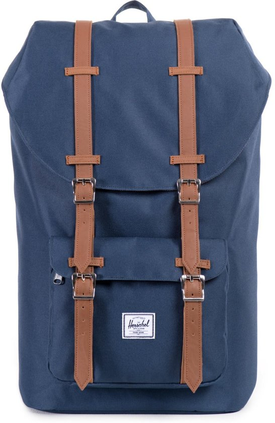 408d516c7cc bol.com | Herschel Supply Co. Dames Rugtassen Little America - Blauw