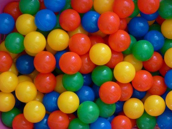 Ballenbakballen 70mm 4-kleurenmix - 1000 stuks