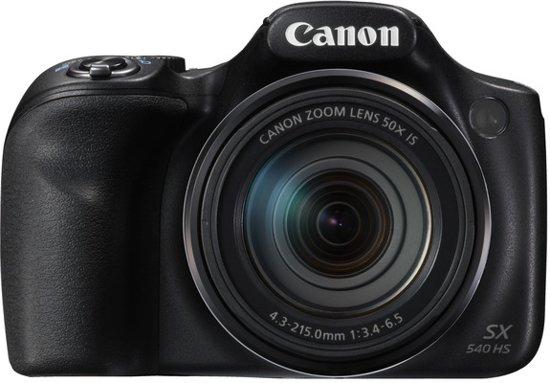 Canon PowerShot SX540 HS - Zwart