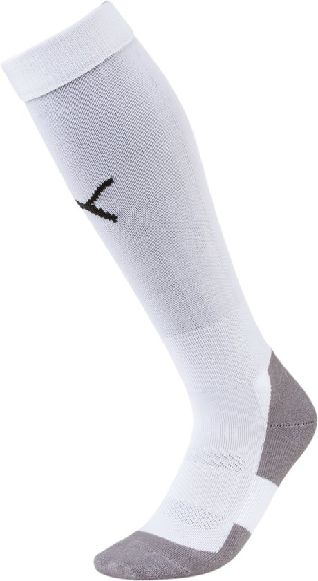 Puma Sportsokken - Maat 39-42 - Unisex - wit/zwart/grijs