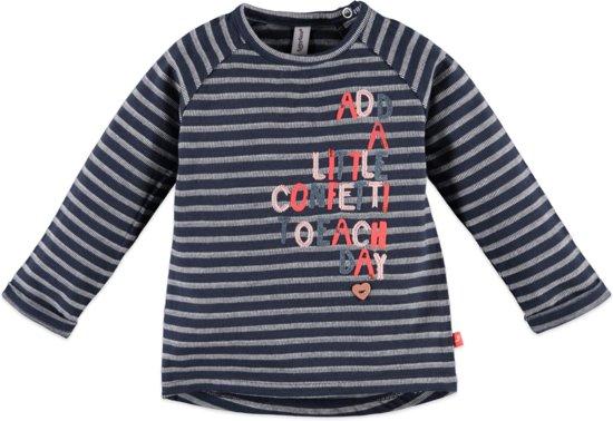 Babyface Meisjes T-shirt - Donker Blauw - Maat 92