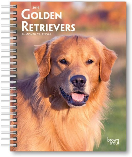 Golden Retrievers 2019 Diary
