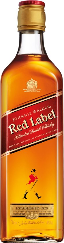 Johnnie Walker Red Label - 70 cl
