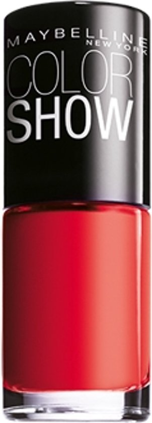 Maybelline Colorshow Power Red 349 - nagellak