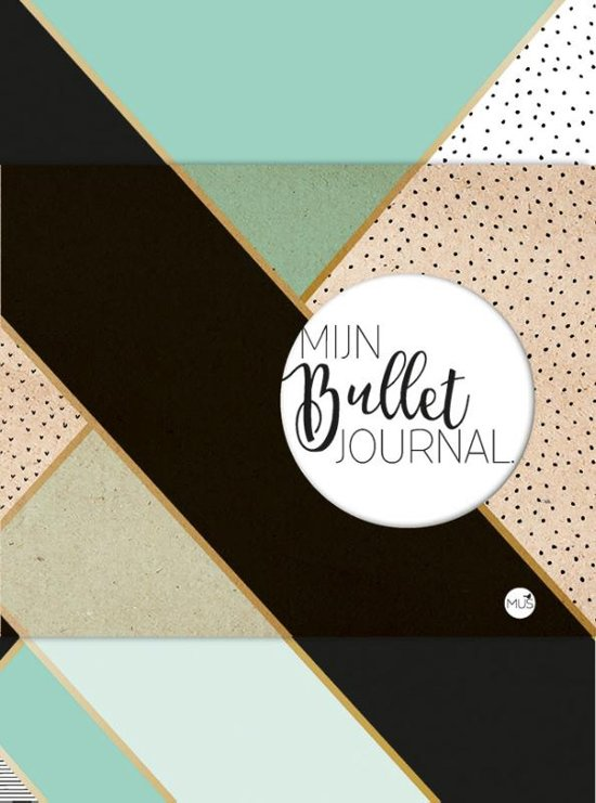 Mijn Bullet Journal - Mint en goud