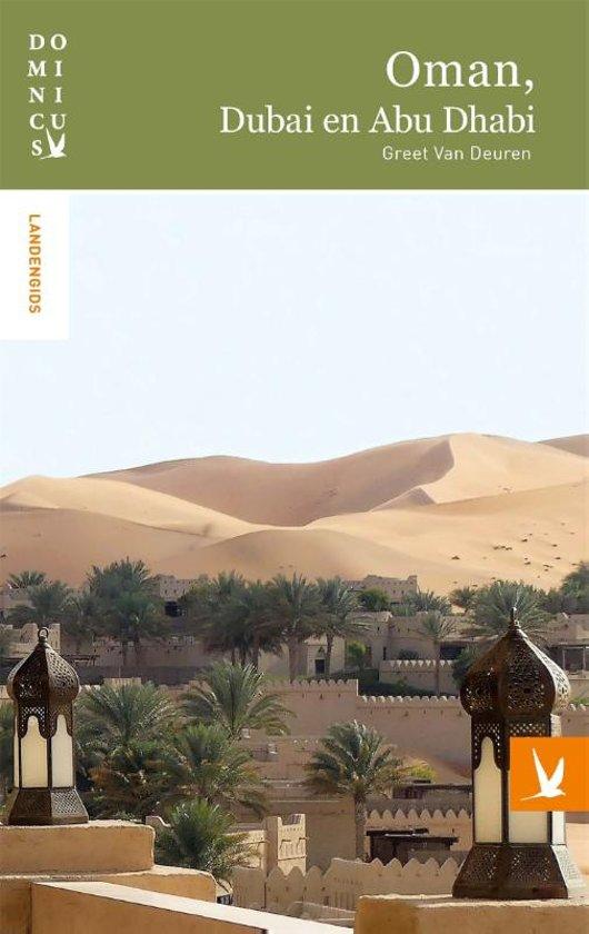 Dominicus landengids - Oman, Dubai en Abu Dhabi cover