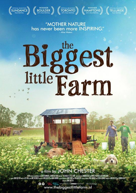 DVD cover van The Biggest Little Farm