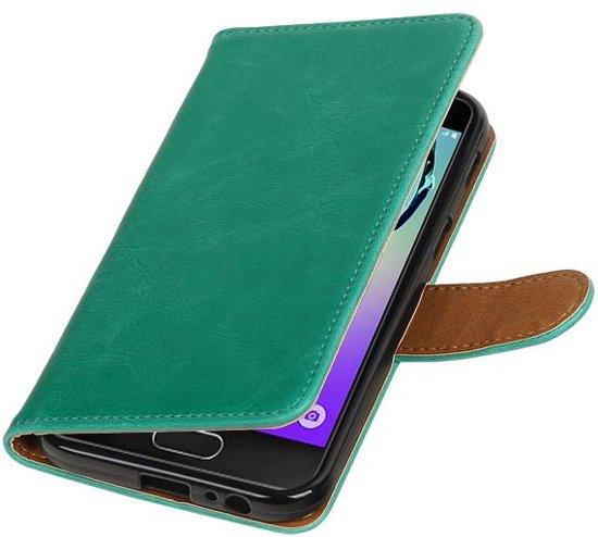 Samsung Galaxy A3 2017 A320F Groen | Premium PU Leder bookstyle / book case/ wallet case  | WN™