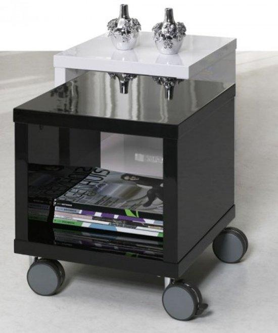 Zwarte Hoogglans Bijzettafel.Bol Com Davidi Design Cuber Bijzettafel Hoogglans Zwart