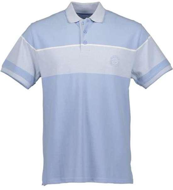 M Blue Seven Lichtblauw Poloshirt Heren KmMaat j3ARL45