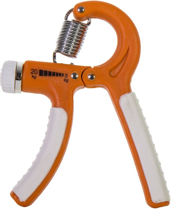 Tunturi Instelbare Knijphalter- Handtrainer - Lichte Weerstand
