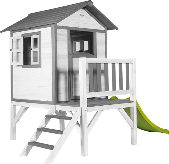 Sunny Lodge Speelhuis XL met Glijbaan