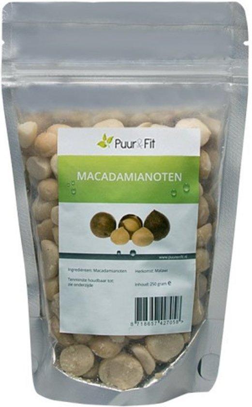 Puur&Fit Macadamia Noten Biologisch - 250 gram