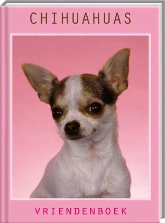 Chihuahua Vriendenboek