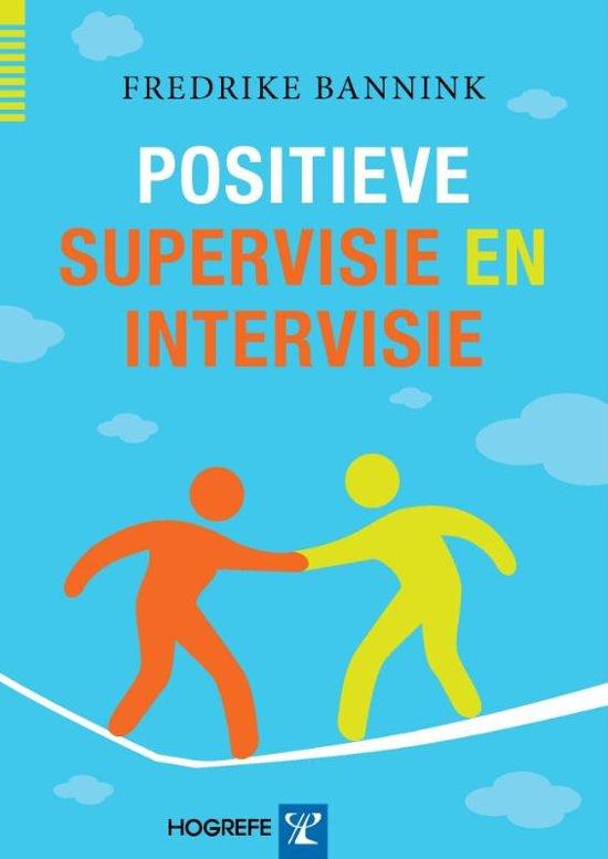 Positieve supervisie en intervisie