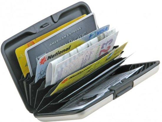 4b485fd0332 Aluminium portemonnee - Creditkaarthouder - Zwart De originele CardWallet  luxe lichtgewicht creditcardhouder