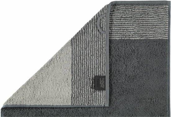 Cawö Two-Tone Gastendoekje - Leisteen - 30x50
