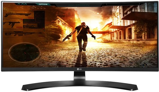LG 29UC88-B Curved Ultrawide Monitor