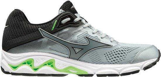 Mizuno Sportschoenen - Maat 40.5 - Mannen - grijs/zwart/groen