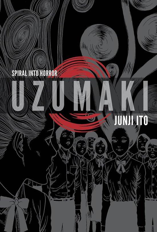Boek cover Uzumaki (3-in-1, Deluxe Edition) van Junji Ito (Hardcover)