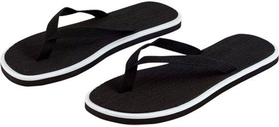 42 Maat Bellatio Zwart Heren 44 Basic Slippers vnIaz