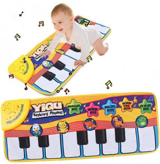 Kids Touch Play Piano Keyboard Music Mat Baby Speelkleed
