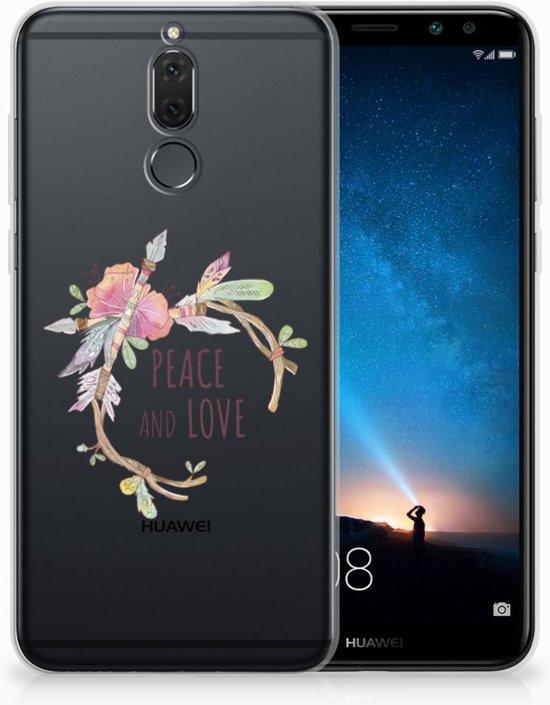 Huawei Mate 10 Lite Uniek TPU Hoesje Boho Text