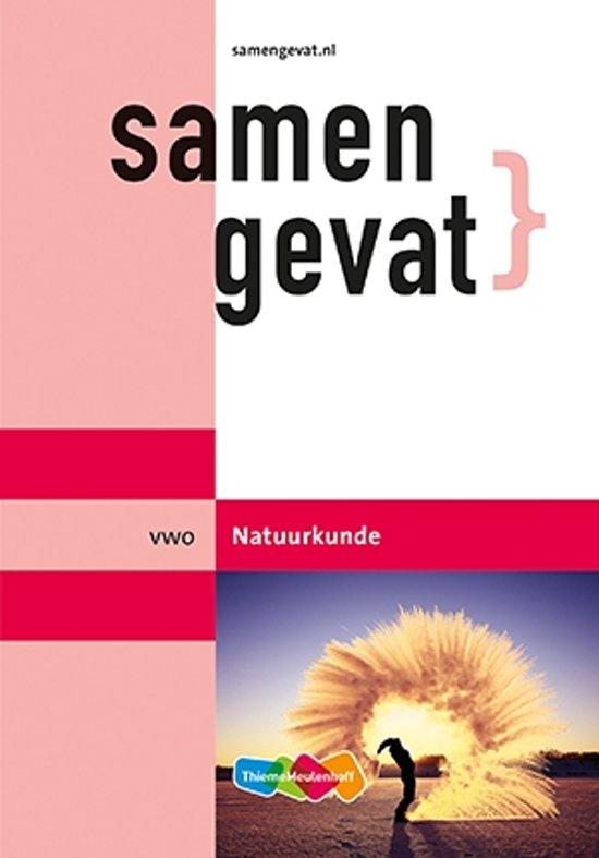 Boek cover Samengevat vwo Natuurkunde van Thijssen (Paperback)